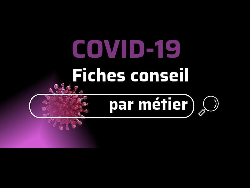 COVID19 Fiche consieil par métier