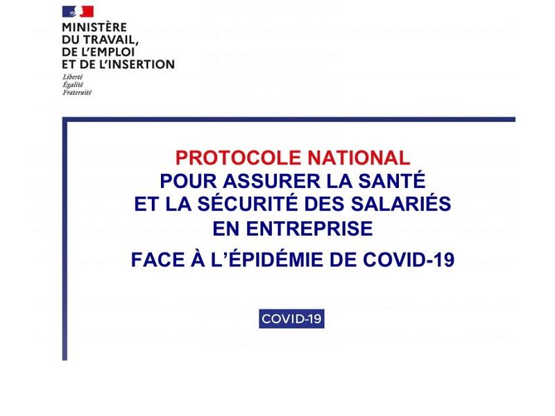 Présanse Nouvelle Aquitaine protocole entreprises